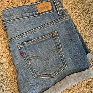 Levi's 515 cut off shorts.